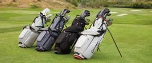 golf bag putter holder