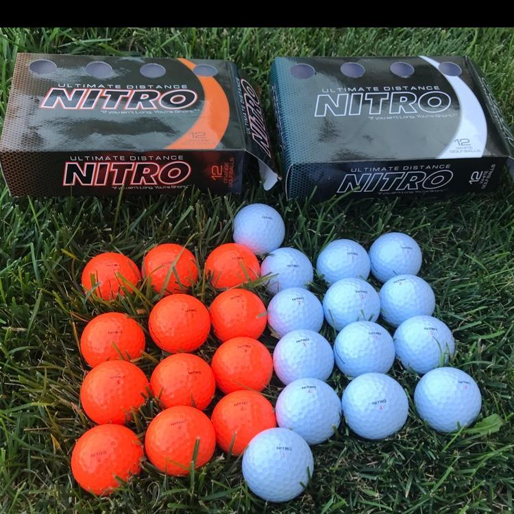 nitro ultimate distance golf balls