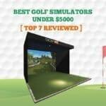 8 Best Golf Simulators Under $5000 【Reviewed 2021】