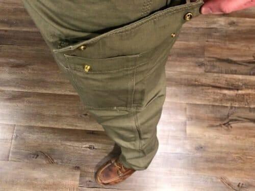 Title Clothing Men's Softshell Fleece-Lined Cargo Pants