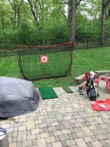 GoSports Golf Practice Hitting Net view