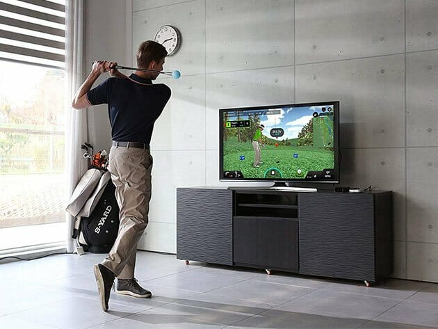 Phigolf Golf Game Simulator with Swing Stick