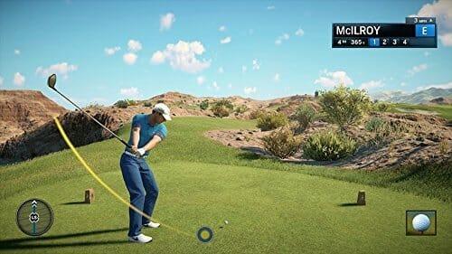 Rory McIlroy PGA TOUR PS4 Brilliant EA Mechanics