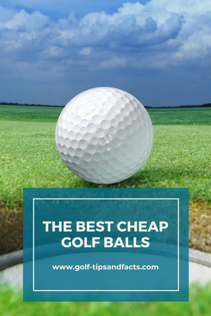 The bestcheap golf balls